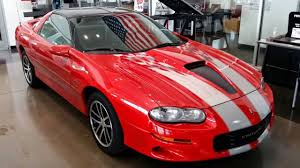 2002 Chevy Camaro Z28 SS 35th Anniversary Edition - YouTube
