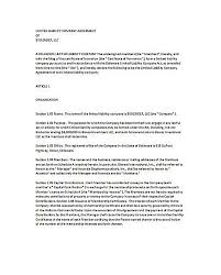 Llc Operating Agreement California , 23+ Llc Operating Agreement ...
