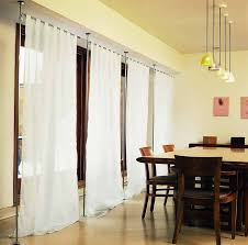 Beautiful Image Of: Curtain Room Dividers Dining