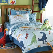 surprising dinosaur toddler bedding with wooden floor plus retro