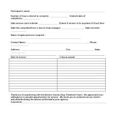 Volunteer Log Sheet Template Volunteer Hours Form Template