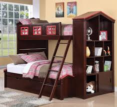 Loft Bed With Trundle. Avec Le Lit. Bunk Bed Twin Over Twin With ...
