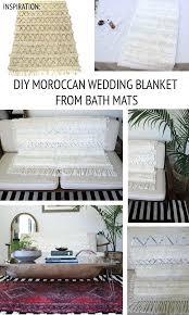 moroccan bath mat gray rug