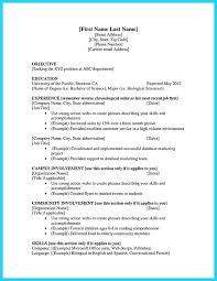 9 10 Entry Level College Student Resume Samples 626reserve Com