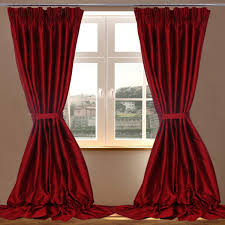 Red Bedroom Curtains Red Bedroom Curtains