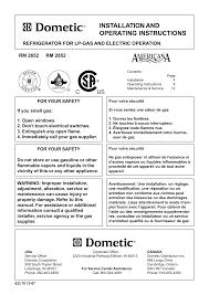 Dometic Rm2652 Check Light Dometic Rm2652 User Manual Manualzz Com