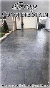 Stained concrete patio gray Textured Concrete Weve Got The Gray Concrete Stain Youre Looking For Refinish Your Existing Concrete Or Color New Slab With Using Dci Liquid Colored Antique Concrete Bolickinteriorscom Liquid Colored Antique Concrete Stain Directcolorscom In 2019