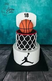 Cake Ideas For Mens 40th Birthday Cakes Men Skip To My Basketball