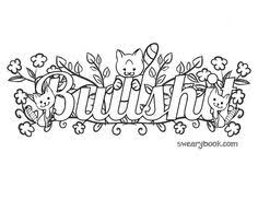 21 Best Swear Word Coloring Pages Images Coloring Pages Colouring