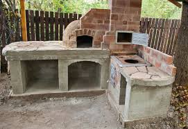 outdoor kitchen pizza oven design. garden design with how to build an outdoor pizza oven howtospecialist vine plant kitchen