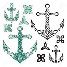 Celtic Rope Designs Anchor Illustrations Inspired From Celtic Knot Designs