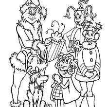 Small Picture The grinch steals christmas gifts coloring pages Hellokidscom