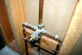pex shower valves to faucet connection to faucet connection how install plumbing installing