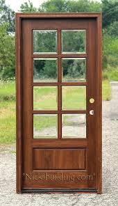 single glass exterior door exterior mahogany single doors single panel glass exterior door