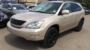 Pre Owned Gold 2004 Lexus RX 330 SUV AWD In Depth Review | Stony ...