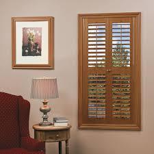 window shutters. Exellent Window HOME Basics Plantation Faux Wood Oak Interior Shutter Price Varies By  SizeQSPB3954  The Home Depot To Window Shutters D