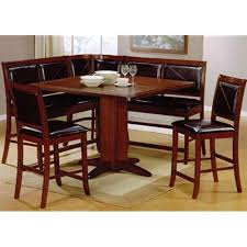 dining booth furniture. 6pc Counter Height Dining Table \u0026 Stools Set Dark Brown Finish Dining Booth Furniture