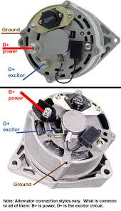 3 wires to alternator revised diagram for less confusion