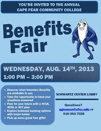 annual employee benefits fair human resources employee flyer 2