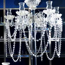 outstanding chandelier parts glass 10 6 8feet crystal prisms 14mm octagon chain lighting accessories garland strand curtain