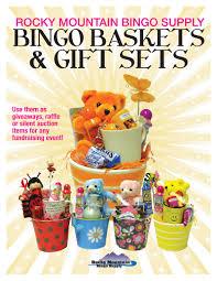 bingo baskets gift sets