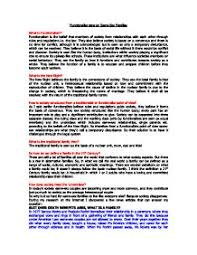 functionalist view on same sex families gcse sociology marked page 1 zoom in
