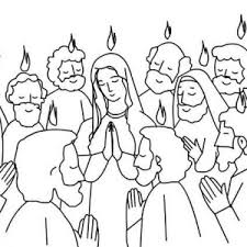 Small Picture Birthday of the Church in Pentecost Coloring Page Color Luna