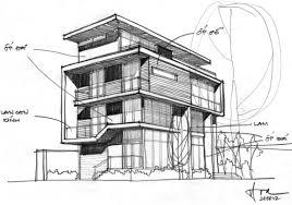 Villa Sketch Design F2 Villa By Dang Duc Hoa Block Architects 22 Building