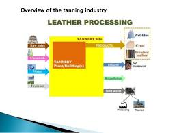 Leather Tanning Process Flow Chart Tannery Industry Operation Process And Treatment