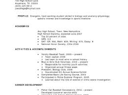 Awesome Example Of Resume For High School Graduate In Philippines