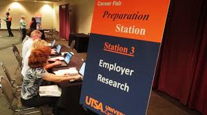 points of pride student affairs newsletter on tuesday 6th members of the university career center conducted a career fair preparation station for san antonio job seekers attending the