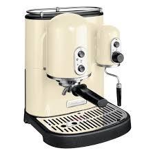 kitchenaid artisan 5kes2102eac cream espresso machine 220 volts
