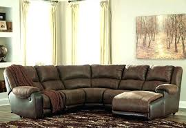 gray leather sectional ashley furniture grey sectionals home improvement charming leathe