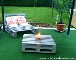 recycled pallets outdoor furniture. Interesting Outdoor Outdoor Furniture Made Out Of Pallets Outside From    For Recycled