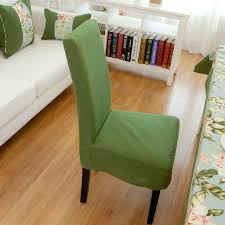 green dining chair covers customize quality one piece dining chair cover green chair cover thickening linen