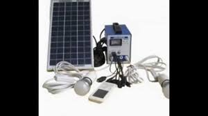 A Solar Panel Connected To A Batterypowered Lighting System Can Solar Energy Lighting Systems