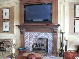 herringbone fireplace herringbone fireplace pattern herringbone brick fireplace insert