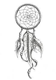 Simple Dream Catcher Tattoos Simple Dreamcatcher Tattoo Design 16