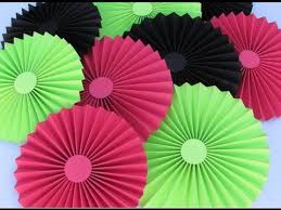 diy paper crafts how to make simple paper rosettes spring flowers innovative arts