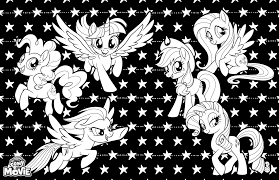 My Little Pony Sea Ponies Coloring Pages Color Bros