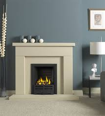 durrington jura stone fireplace with gas fire