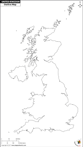 blank map united kingdom. Contemporary Map With Blank Map United Kingdom World