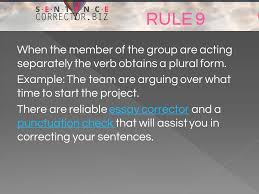rules to solve sentence correction problems in english ppt  10 when