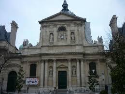chapelle de la sorbonne. Fachada Principal De La Sorbonne. Chapelle Sorbonne