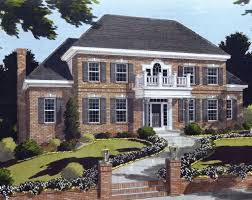 Best Selling Southern House Plans Direct From The Designers Dfd    This Delightful Two Story Southern Style Home Offers Formal And intended for Colonial House Plans With