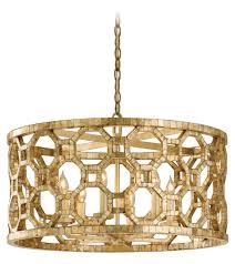 drum light chandelier. Corbett Six Light Stained Silver Leaf Drum Shade Pendant 104-46 From Regatta Collection Chandelier T