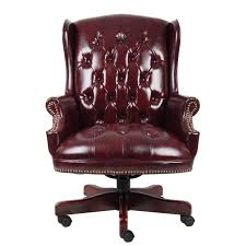 Shop Boss Traditional HighBack Executive Chair  Free Shipping Today Overstockcom 2201951