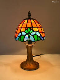 traditional tiffany style table wholesale traditional tiffany style table lamp with stained glass led