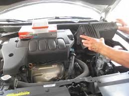 nissan altima changing air filter engine nissan altima 2007 changing air filter engine
