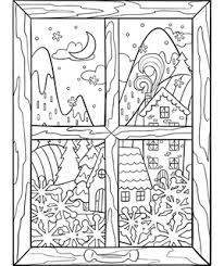 Santa claus wrapping gifts printable coloring page. Winter Free Coloring Pages Crayola Com
